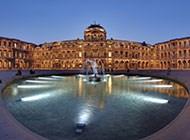法国卢浮宫高清风景图片