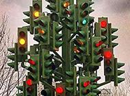 无力吐槽的红绿灯图片