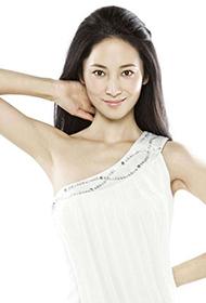 徐筠白皙美肌明艳动人写真