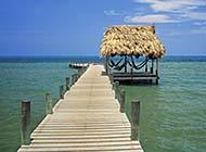 唯美清新自然海边夏日风景高清壁纸