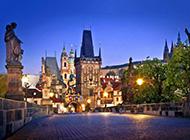 美丽的布拉格城市风景壁纸