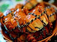 巴城品蟹高清美食图片