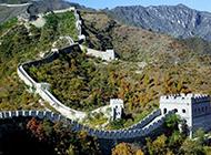 中国十大名胜古迹长城美丽风景图片