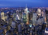 纽约帝国大厦全景图片
