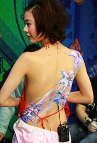 邵小珊唯美人体彩绘图片