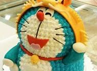 哆啦a梦生日蛋糕图片大全