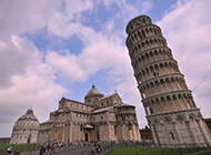 意大利比萨斜塔建筑图片欣赏