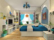 浪漫梦幻的韩式风格卧室装修效果图欣赏