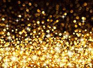 金色梦幻光斑背景图片 高清
