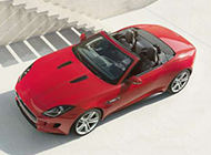 Jaguar捷豹F-Type大红色个性超跑欣赏
