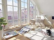 现代简约装修飘窗设计效果图欣赏