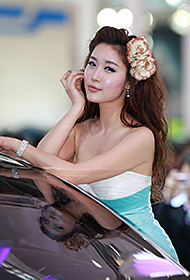北京车展性感美女模特合集
