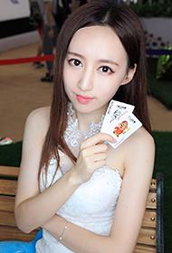 中国漂亮的气质美女沈沁滢生活照