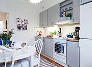 北欧简约公寓装修效果图欣赏清新淡雅