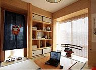 日式三居室卧室榻榻米设计简单舒适
