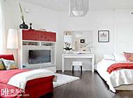 40平方米现代简约风格一居室装修效果图
