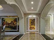 时尚美观的走廊吊顶装修效果图