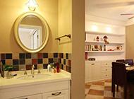 简约美式160平米四居室装修图温暖舒适