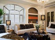 140平米美式小清新风格三居室装修效果图
