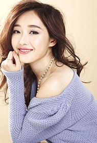 美女演员蒋梦婕时尚优雅气质图片