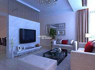 108平方米老房改造现代简约家居装修效果图