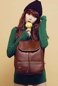 韩国明星金泫雅冬日时尚穿搭图片