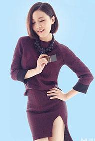 女歌手姚贝娜成熟妩媚风情写真