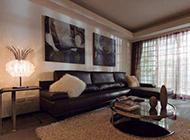 美式精简三居室新房设计图
