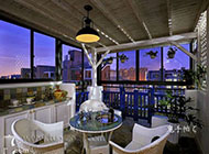 惬意舒适的阳台装修效果图欣赏