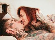 好看的欧美情侣花臂纹身图片大全