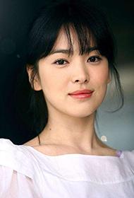 韩国气质美女宋慧乔白裙子写真图片