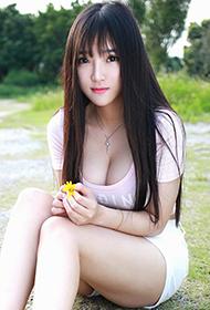 秀人网清纯少女夏瑶baby唯美户外写真