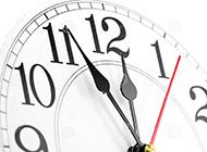 时钟简约大气背景图素材