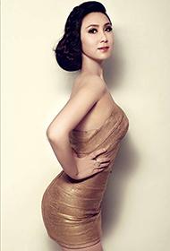 王烟蒙诠释知性女人优雅写真