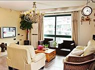 地中海客厅混搭小清新装修效果图
