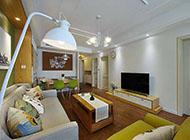 温馨浪漫的客厅电视背景墙装修效果图