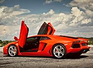 超级跑车兰博基尼Aventador高清汽车壁纸