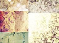 梦幻欧式花纹微博背景图片
