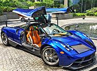 超酷炫的帕加尼跑车摄影图片