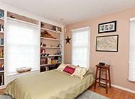 复式公寓田园风格卧室装修效果图