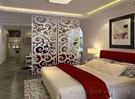美观大方的客厅卧室隔断效果图