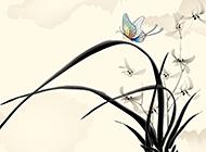 最新古韵淡雅中国风背景图片