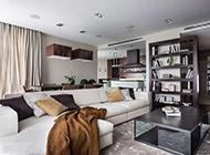 现代时尚二居室装修效果图沉稳大方