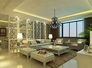 别墅客厅欧式混搭装修效果图大气奢华