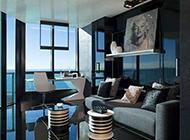 100平米小户型时尚公寓房屋装修效果图