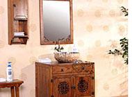 极具古典韵味的浴室装修效果图