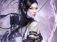 穿纳米战斗服动漫美女英姿图片