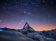 电脑阿尔卑斯山脉经典风景壁纸