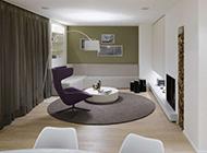 复式公寓现代极简欧式装修效果图