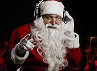 简约可爱圣诞老人精美电脑壁纸